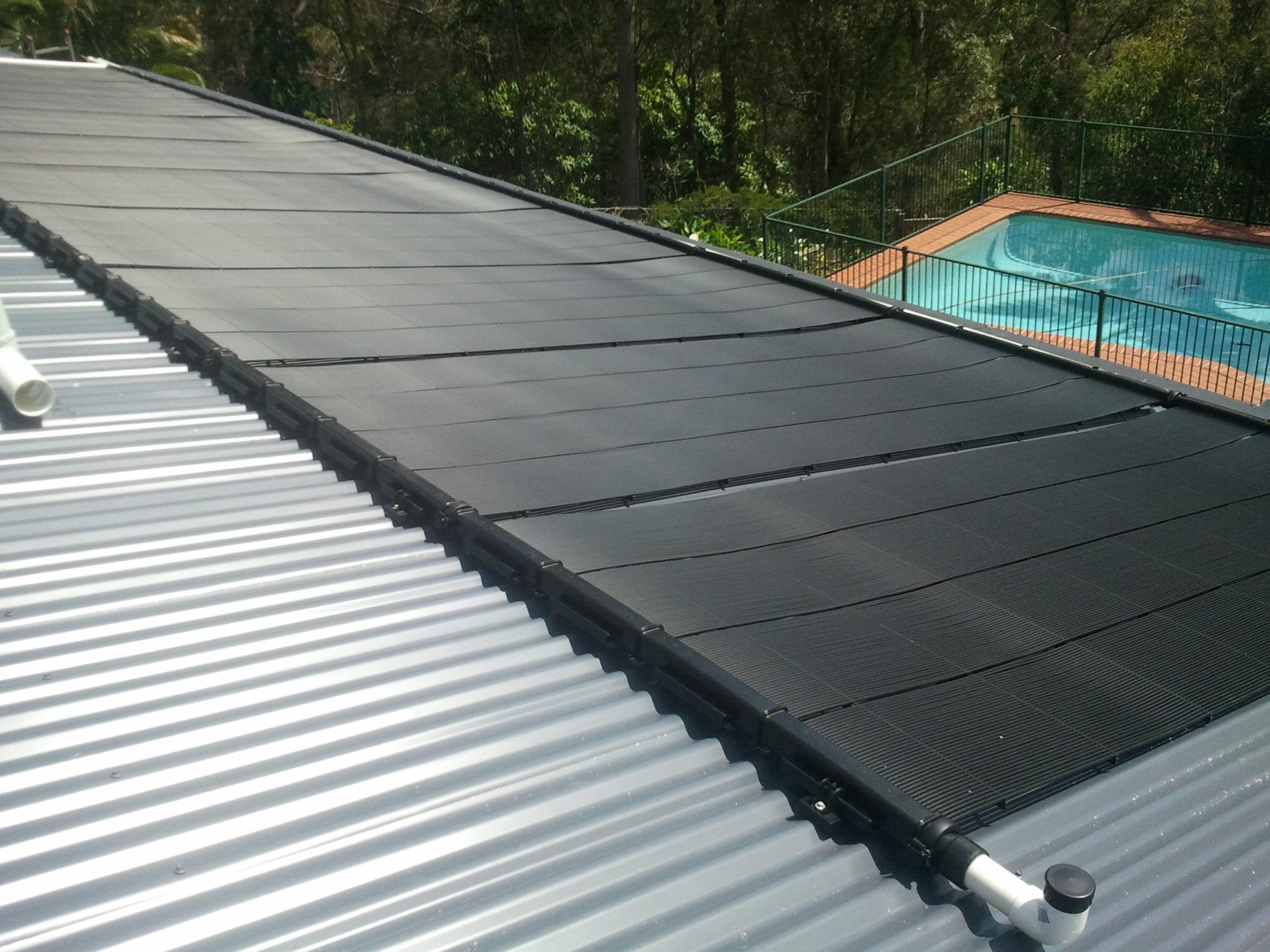 Solar pool heating panels ridgid
